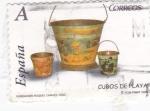 Stamps Spain -  fundación raquel chaves-vigo  cubos de playa