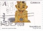 Sellos de Europa - España -  museu del joguets de denia- tragabolas