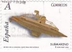 Stamps Spain -  museu de la joguina-san feliu de guixols-submarino