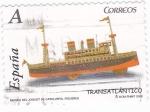 Sellos de Europa - España -  museu del joguet de catalunya-figueres transatlantico