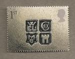 Stamps United Kingdom -  Signos 2