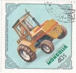 Stamps Mongolia -  tractor-Bonser  Gran Bretaña