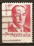 Sellos del Mundo : Oceania : Australia : Stanley Melbourne Bruce.Octavo primer ministro de Australia.