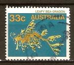 Sellos de Oceania - Australia -  Dragon de mar.