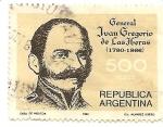 Stamps Argentina -  General