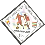 Sellos de Europa - Hungría -  2798 - Mundial de fútbol España 82