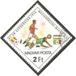 Stamps Hungary -  2801 - Mundial de fútbol España 82