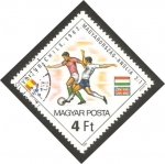 Stamps Hungary -   2802 - Mundial de fútbol España 82