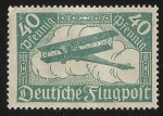 Stamps Europe - Germany -  Biplane