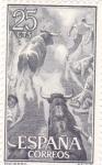 Stamps Spain -  fiesta nacional: tauromáquia-  encierro
