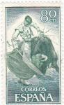 Sellos de Europa - España -  fiesta nacional: tauromáquia-corrida de toros