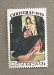 Stamps Dominica -  Navidad 1976