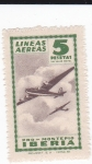 Stamps Spain -  lineas aéreas pro-montepío IBERIA