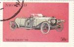 Sellos del Mundo : Asia : Nagaland : coches antiguos-silver ghost 1911