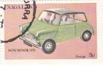 Sellos de Asia - Nagaland -  coches antiguos-mini 1970