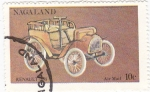 Stamps Asia - Nagaland -  coches antiguos- renault 1898