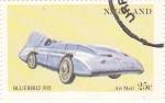 Sellos del Mundo : Asia : Nagaland : coches antiguos- bluebird 1935