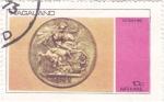 Sellos del Mundo : Asia : Nagaland : moneda-victoria 1893
