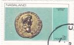 Stamps Nagaland -  moneda-claudius de britainn