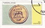 Stamps Nagaland -  moneda-romulo y remo