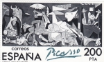 Stamps : Europe : Spain :  GUERNICA- Pablo Ruiz Picasso