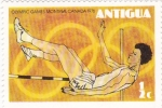 Sellos de America - Antigua y Barbuda -  juegos olimpicos montreal-canada 1976-salto de altura
