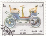 Stamps United Arab Emirates -  coches antiguos-