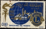 Stamps of the world : Morocco :  1917-1967  LIONS INTERNATIONAL