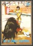 Stamps Equatorial Guinea -  Tauromaquia