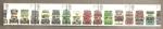 Stamps United Kingdom -  Autobuses