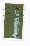 Stamps America - Latvia -