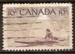 Sellos del Mundo : America : Canadá : Esquimales Hunter.