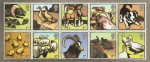 Stamps of the world : United Kingdom :  Animales Granja