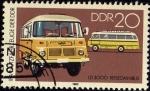 Sellos de Europa - Alemania -  IFA-NUTZFAHRZEUGE DER DDR