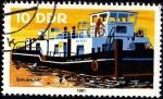 Sellos de Europa - Alemania -  Schubschiff