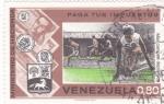 Stamps Venezuela -  paga tus impuestos-más campos deportivos