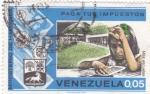 Sellos de America - Venezuela -  paga tus impuestos-más escuelas