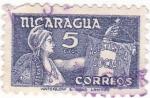 Sellos de America - Nicaragua -  asistencia social