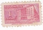 Sellos de America - Colombia -  palacio de comunicaciones