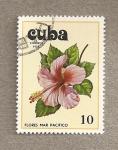 Sellos de America - Cuba -  Flores del Pácifico