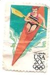 Stamps United States -  Olimpiadas