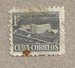 Stamps America - Cuba -  Palacio de comunicaciones