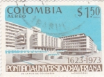 Stamps Colombia -  pontificia-universidad-averiana