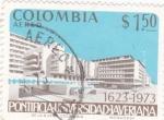 Sellos de America - Colombia -  pontificia-universidad-averiana