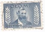 Stamps Colombia -  ezequiel uriocoechea