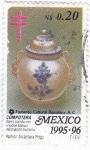 Stamps Mexico -  barro cocido- compotera
