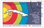 Stamps Cuba -  sistema internacional de unidades