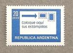 Stamps America - Argentina -  Coloque aqui sus estampillas