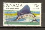 Sellos de America - Panamá -  PEZ   VELA