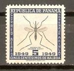 Sellos de America - Panamá -  MOSQUITO   AEEDES   EGITY